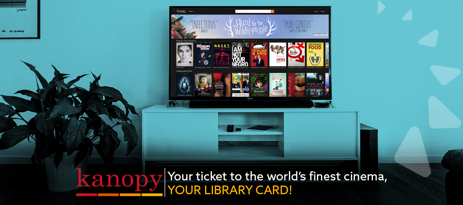 Your ticket to the world's finest cinema, your library card!