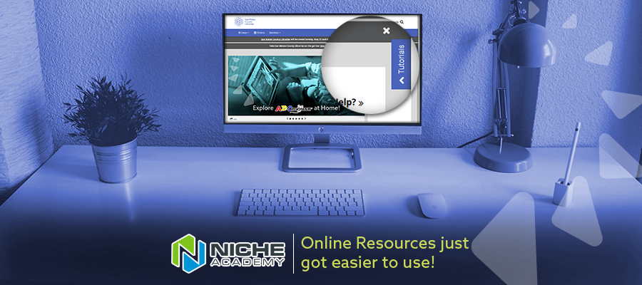 Online Resources just got easier to use.