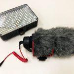 Aputure Amaron AL-H198 LED Light and Rode VideoMic Go