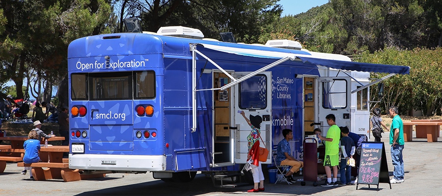 San Mateo County Libraries' Bookmobile
