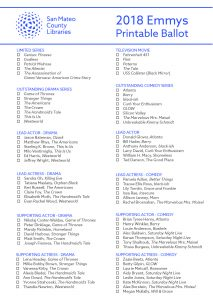 Image of Emmy Ballot pdf