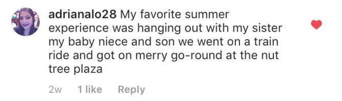 Instagram user @adrianalo's comment