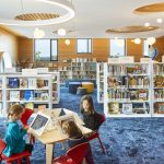 Interior shot of the Children's room at Half Moon Bay Library