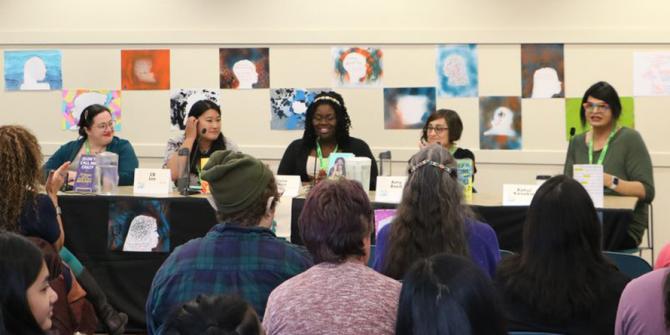 Author Panel at YANovCon 2020