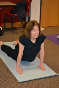 e82dd89ef9ff The free classes offer an alternative to the gym and are convenient for  regular library users. Kathy Campagna takes the yoga class at Millard  Branch.