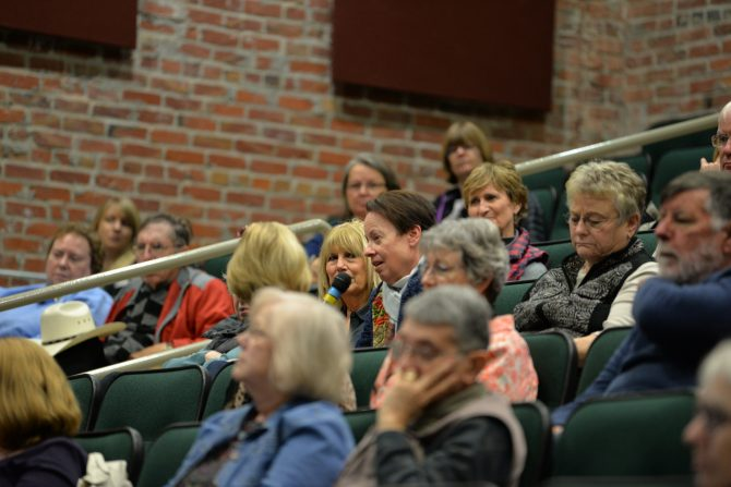 2019 Omaha Reads audience at The Durham Museum