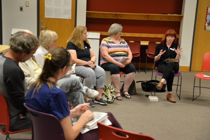 2019 Omaha Reads book discussion at Millard Branch