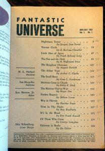 Fantastic Universe 1 Title Page