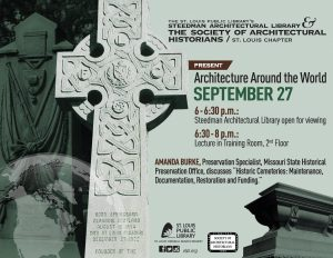 Cemeteries Talk poster