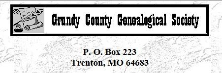 Grundy Co Genealogical Society