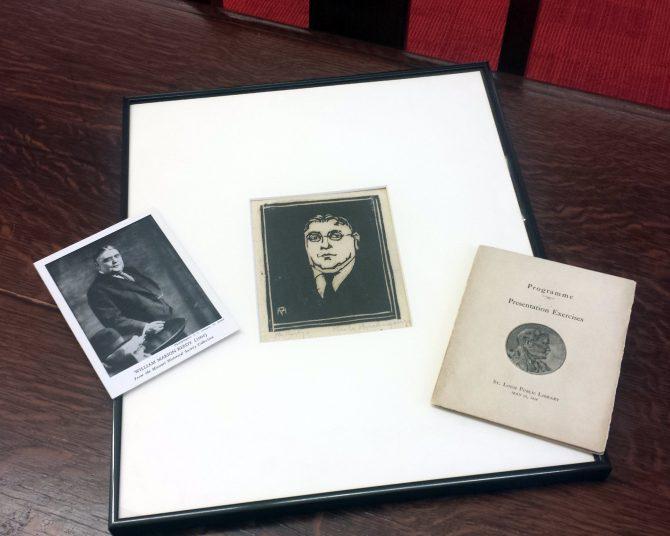 Reedy Portrait, Print, and Program