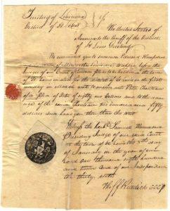 St. Louis Circuit Court Case, 1812
