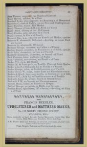 Green's 1845 St. Louis Directory