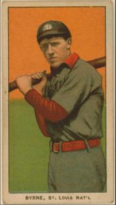 Bobby Byrne (active 1907-1917 with Cards, Pirates, Phillies, and White Sox)