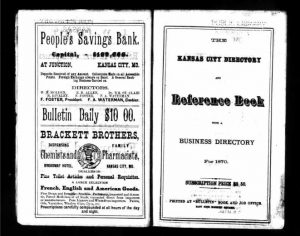 Kansas City Area Directories