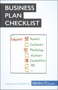 Business Plan Checklist by Antoine Delers