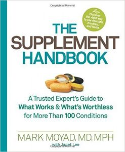 The Supplement Handbook by Mark Moyad