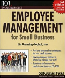 Employee Management for Small Business by Lin Grensing-Pophal