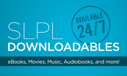 SLPL Downloadables Available 24/7