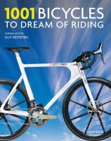 Book cover: 1001 bicycles to dream of riding