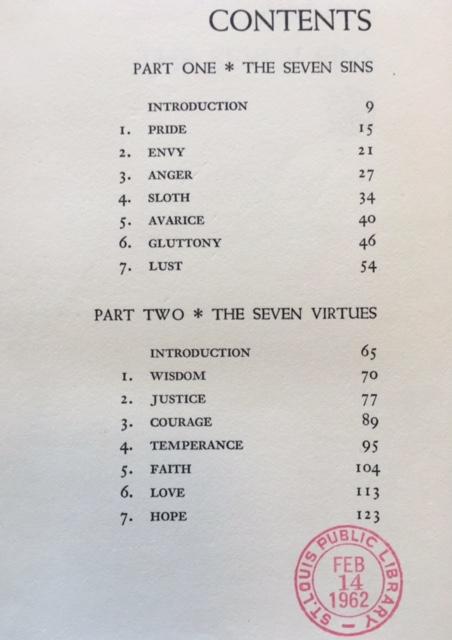 Sins & Virtues