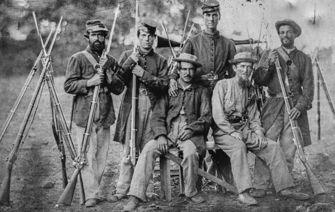 Civil War soldiers (National Park Service photo)