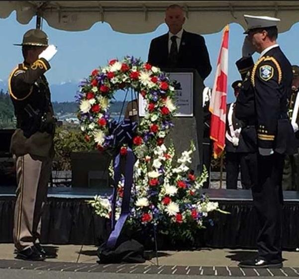 Funeral for Washington State correctional officer(Washington State Department of Corrections photo)