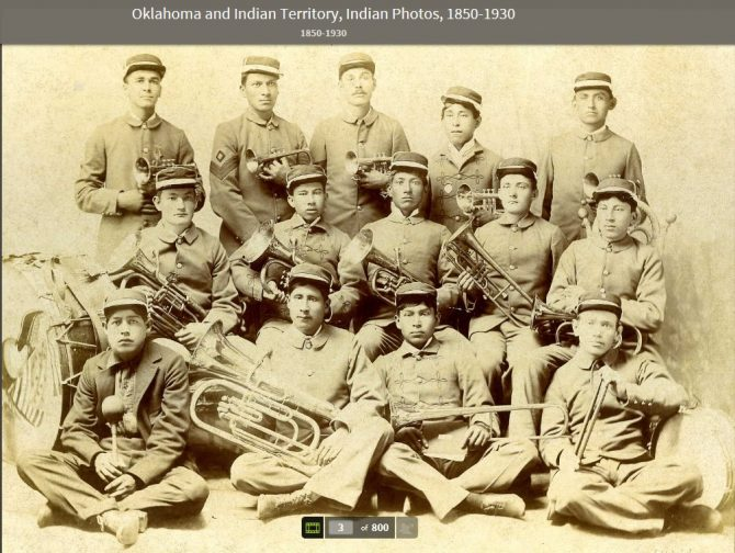 Indian Territory Band (Ancestry LE photo)