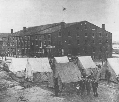 Libby Prison, Richmond, Virginia (National Park Service photo)