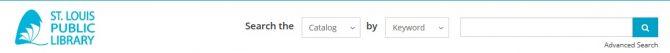 SLPL website navigation bar
