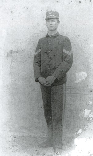 Illinois Civil War soldier George McDaniel (NPS.gov photo)