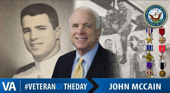 Senator John McCain (VA.gov photo)