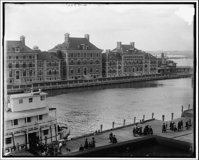 Immigrant Landing Station at Ellis Island (LOC.gov photo)