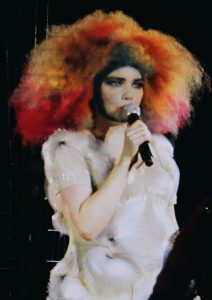 Photo of singer Bjork