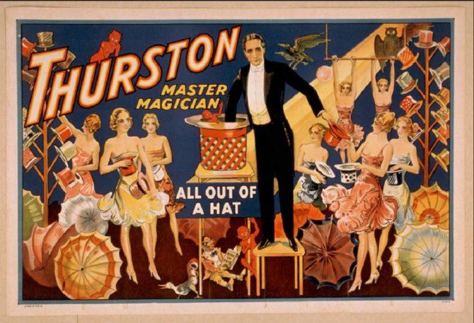 Thurston, Master Magician (LOC.gov photo)