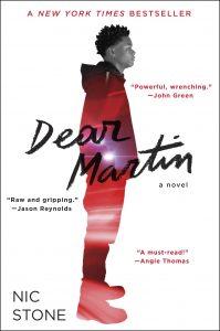 """Dear Martin"" by Nic Stone"