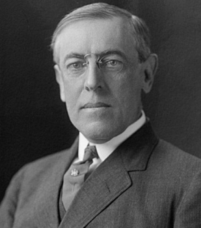 President Woodrow Wilson (LOC.gov photo)