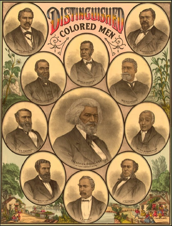 Distinguished Colored Men (LOC.gov photo)