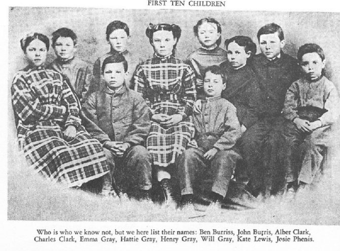 Civil War orphans (IN.gov photo)