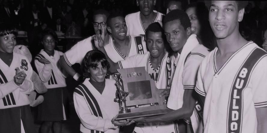 Sumner with trophy 1969