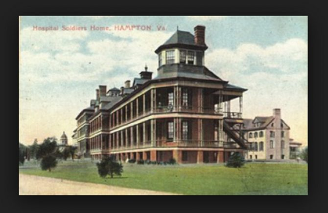 National Soldiers Home, Hampton, Virginia (NIH.gov photo)
