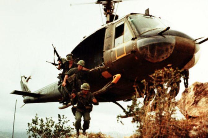 Helicopter landing during Vietnam War (Defense.gov photo)