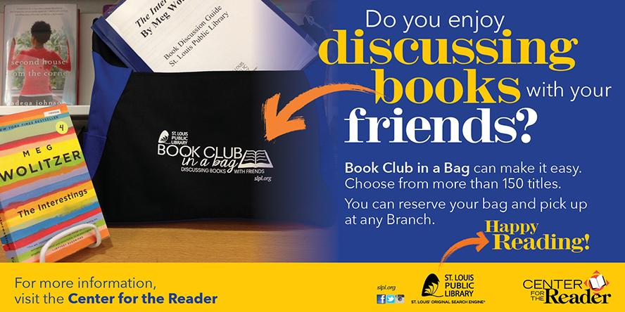 Book Club in a Bag Banner