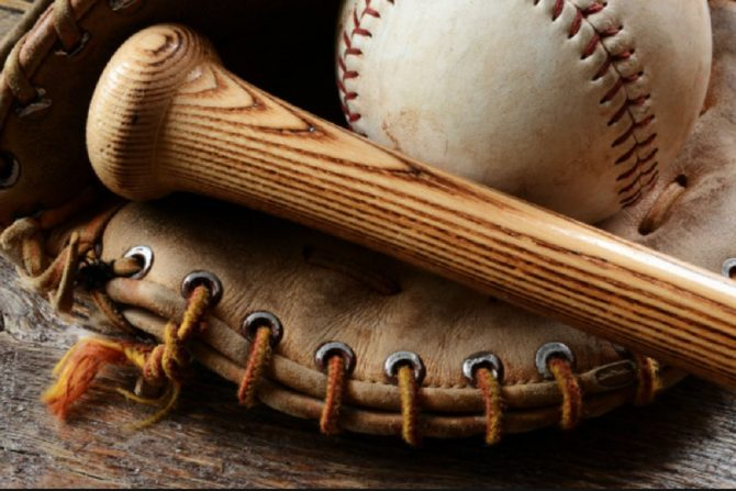 Baseball, bat, and glove (WiltonNH.gov photo)