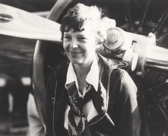 Amelia Earhart (Hawaii.gov photo)