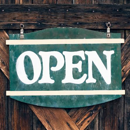 Open For Business Image