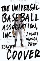 The Universal Baseball Association Inc. book cover