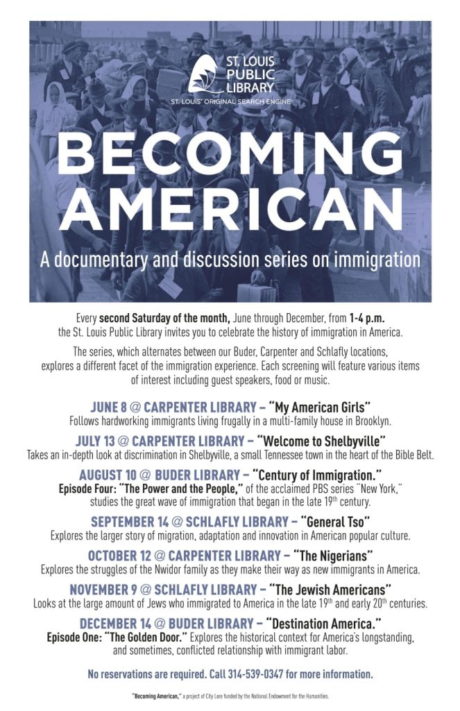 Becoming American series of films and programs starting in