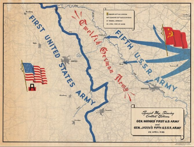 First U.S. Army map (LOC.gov photo)