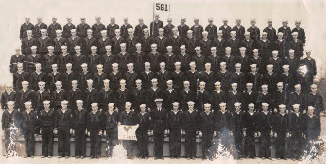Navy recruits, Farragut, Idaho (Idaho.gov photo)